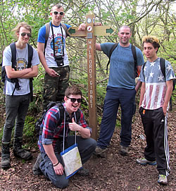Sponsored walk on Coleridge Way